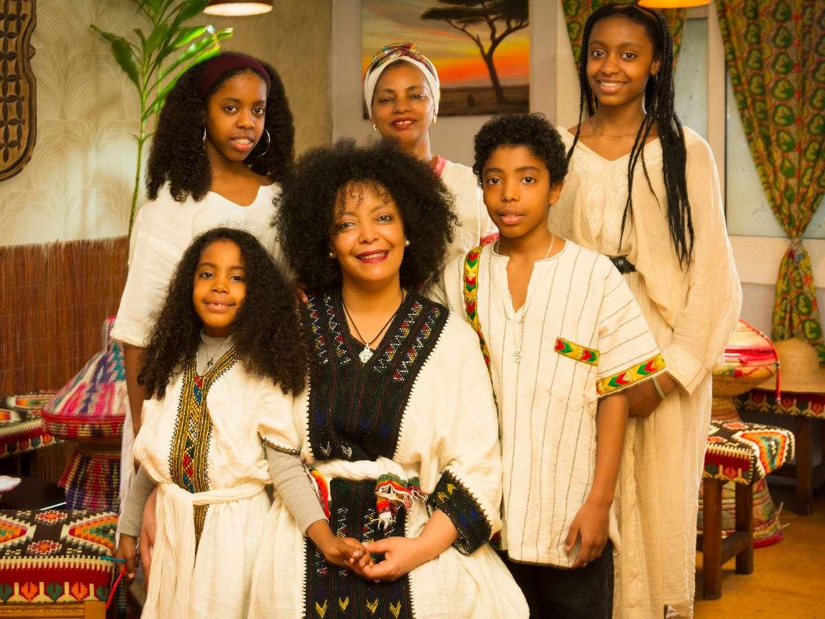 la familia de Rahel